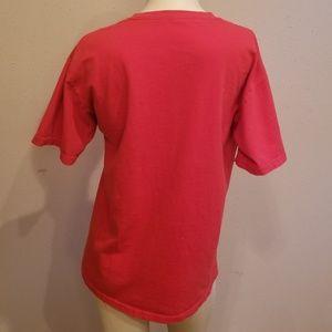Shirts - Red Dairy Queen tshirt men's small,  women's mediu